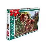 Пазлы «Семья тигров» 260 элементов, C260-11-08