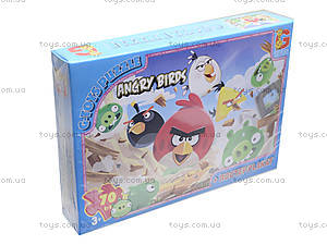Пазлы из серии Angry Birds, B001024, отзывы