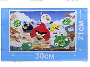 Детские пазлы серии Angry Birds, 70 элементов, B001023, фото