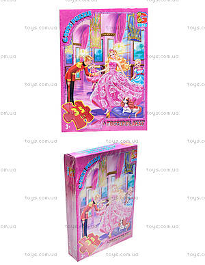 Детские пазлы Barbie, BA002