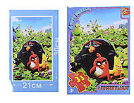 Детские пазлы серии Angry Birds, B001029