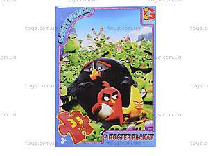 Детские пазлы серии Angry Birds, B001029, фото
