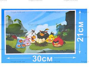 Пазлы для детей Angry Birds, 70 элементов, B001022, фото