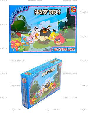 Пазлы для детей Angry Birds, 70 элементов, B001022