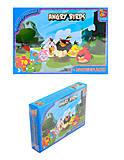 Пазлы для детей Angry Birds, 70 элементов, B001022, отзывы