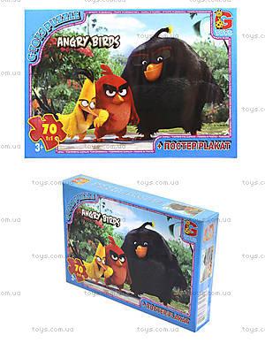 Пазлы серии Angry Birds, 70 элементов, B001027