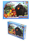 Пазлы серии Angry Birds, 70 элементов, B001027, фото