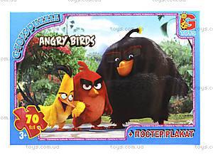 Пазлы серии Angry Birds, 70 элементов, B001027, отзывы
