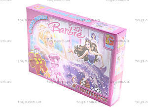 Пазлы серии Barbie, 35 элементов, BA001, купить