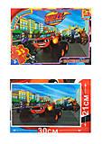 Пазлы серии «Blaze» 35 элементов ТМ G-Toys, ZE005