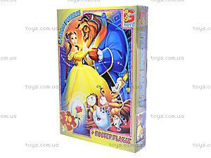 Детские пазлы «Красавица и чудовище», BAB001, купить