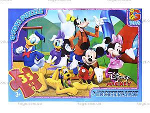 Пазлы серии Mickey Mouse, 35 элементов, M65016, отзывы