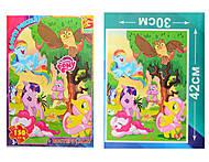 Пазлы из серии «My little Pony» 150 деталей, MLPB010, отзывы