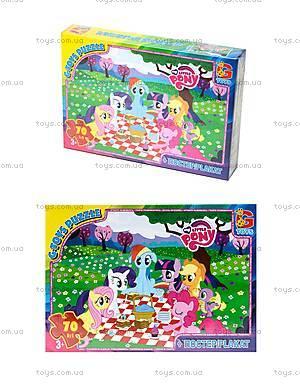 Детские пазлы серии My little Pony, 70 элементов, MLP008