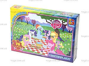 Детские пазлы серии My little Pony, 70 элементов, MLP008, отзывы
