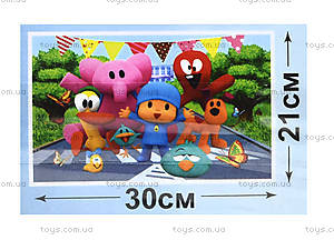 Детские пазлы серии Pocoyo, 35 элементов, PK0020, фото
