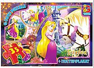 Пазлы серии «Рапунцель» 35 деталей G-Toy, TA004