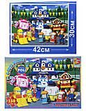 Детские пазлы из серии «Робокар Поли», 150 деталей, RRB067439, фото