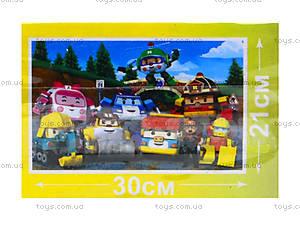 Пазлы для детей «Робокар Поли», RR067432, фото