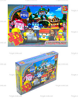 Пазлы для детей «Робокар Поли», RR067432