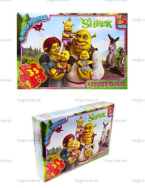 Пазлы серии Shrek, 35 элементов, DS9020
