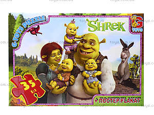 Пазлы серии Shrek, 35 элементов, DS9020, отзывы