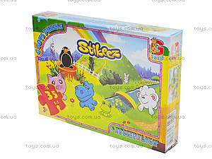 Детские пазлы «Стикиз», 35 элементов, ST005, купить