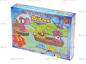 Пазлы для детей «Стикиз», 35 элементов, ST006, купить