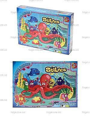 Пазлы серии Stikeez, 70 элементов, ST002