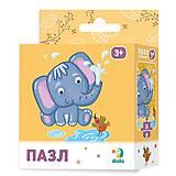 Пазлы «Слонёнок» 16 элементов, 300162, купить