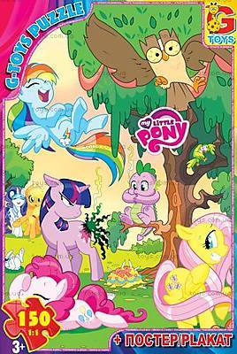 Пазлы из серии «My little Pony» 150 деталей, MLPB010