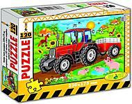 Пазлы «Трактор» 120 элементов, 86911, отзывы