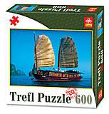 Пазлы Trefl «Кораблик», 89006, фото