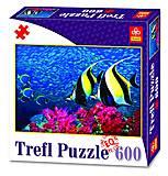 Пазлы Trefl «Подводный мир», 89000, купить