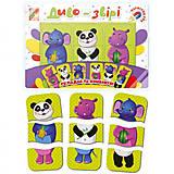 Пазлы - тройняшки «Зоо звери», VT3205-58, toys.com.ua