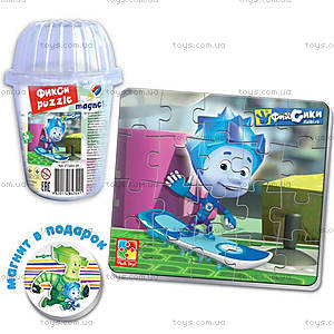 Пазлы в стаканчике «Мультяшные герои», VT3203-35...43, игрушки