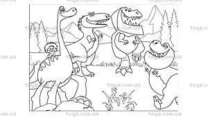 Пазлы в тубе «Хороший динозавр», 52899, фото