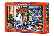 Пазлы «Вечернее чаепитие» 1500 элементов, C-151820, купить