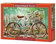 """Пазлы """"Велосипед"""", 500 элементов, В-52998, купить"""