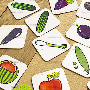 Пазлы «Вивчаємо овочі та фрукти. IQ-club для малышей», 13203004У, фото