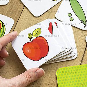 Пазлы «Вивчаємо овочі та фрукти. IQ-club для малышей», 13203004У, отзывы
