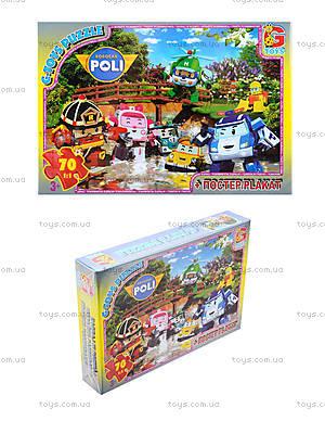 Пазлы из серии «Робокар Поли», RR067433