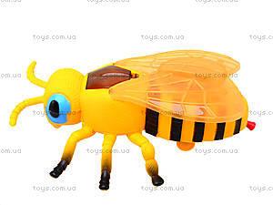 Заводная игрушка «Пчела» со световым эффектом, 866-13B, игрушки