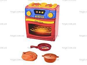 Печка с посудой, 26131, фото