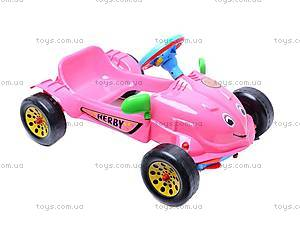 Педальная машина «Херби», 09-901, купить