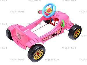 Педальная машина «Херби», 09-901, фото
