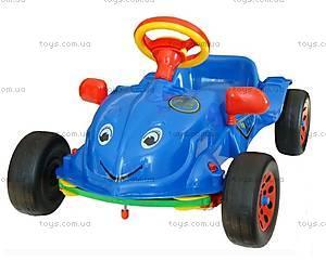 Педальная машина «Херби» с музыкой, 09-901_муз