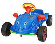 Педальная машина «Херби» с музыкой, 09-901_муз, фото