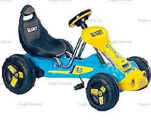 Педальный картинг, синий, GT6659D(PB978