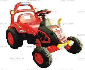 Педальный трактор, красный, BS003B-RED
